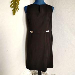 Ann Taylor Sheath Black Dress